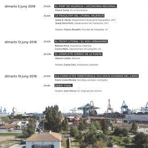 Cartell DEBATS SOBRE EL TERRITORI - juny 2018